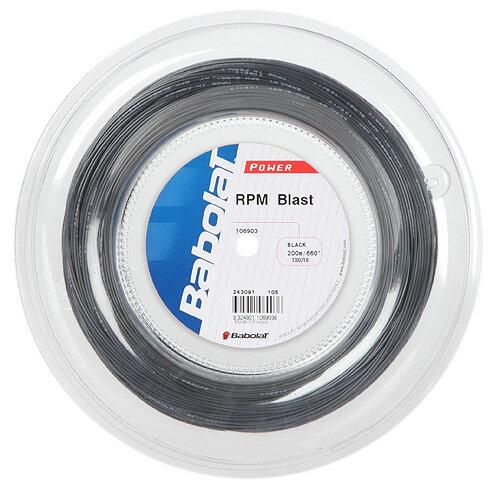 バボラ ガット RPM ブラスト 1.30mm(200mロールガット)/Babolat RPM Blast 130(200m roll strings)