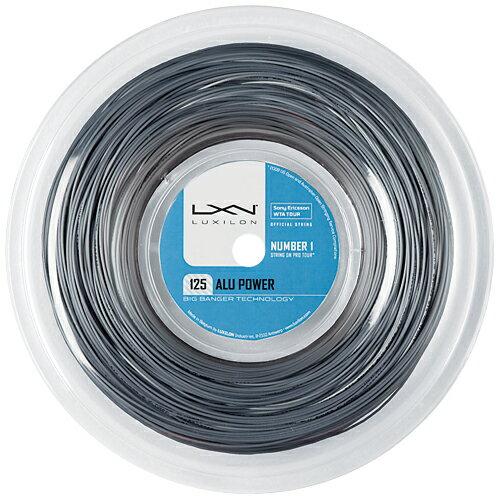 【SALE】ルキシロン ガット BB アルパワー 1.25mm(220mロールガット)(WRZ990100)Luxilon BB ALU Power 125(220m roll strings)