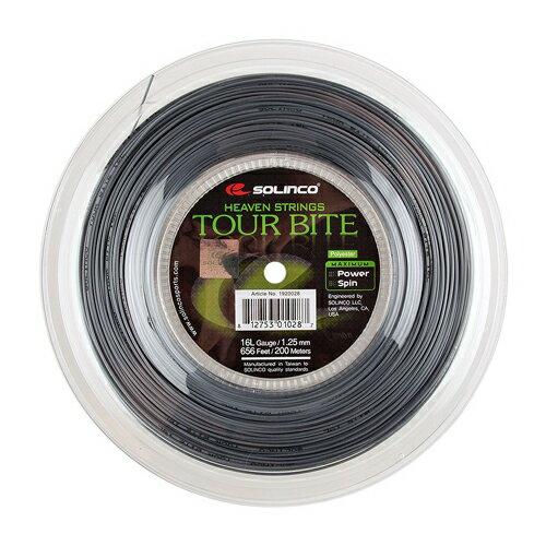 ソリンコ ガット ツアーバイト 16L/1.25mm (200mロールガット)(Solinco Tour Bite 16L (125) String Reel)