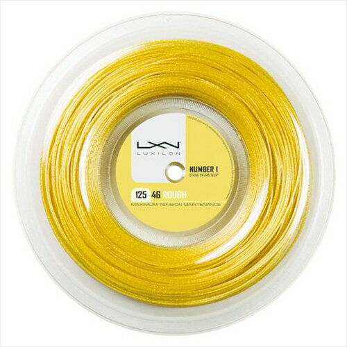 ルキシロン ガット 4G ラフ ロール 1.25mm(200mロールガット)(WRZ990144)(Luxilon Gut 4G Rough 125 200mReel)