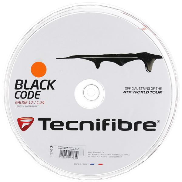 テクニフィバー ガット ブラックコード ファイヤー (200mロールガット)