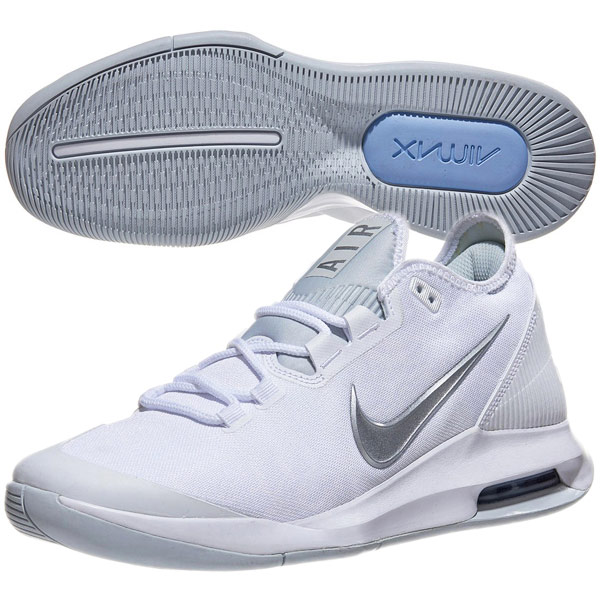 Nike Lady's tennis shoes coat Air Max wild card HC (for the hardware oar coat) white X white X pure platinum X metallic silver (AO7353 .100)