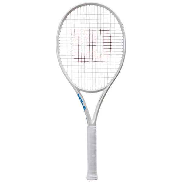 注目ブランド ウィルソン テニスラケット ULTRA 100 CV White in White (WR011011S), 城東区 371497aa