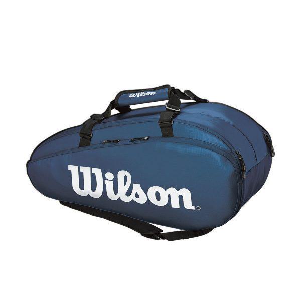 ウィルソン テニス ラケットバッグ TOUR 2 COMP LARGE NYWH (ラケット9本収納可能) (WR8004002001)