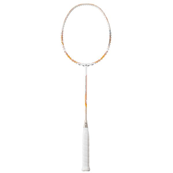 ヨネックス バドミントン ラケット NANORAY 450 LIGHT ホワイト×オレンジ (NR450LT)