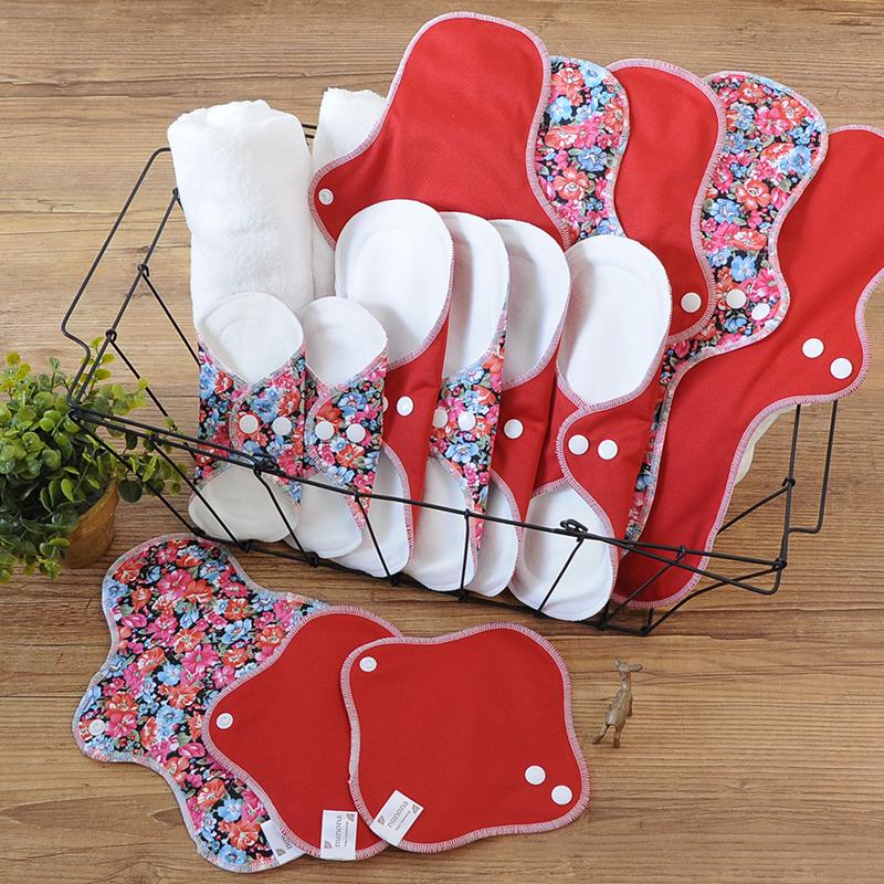 布ナプキン 14枚 量が多い人用セット 送料無料 オーガニックコットン
