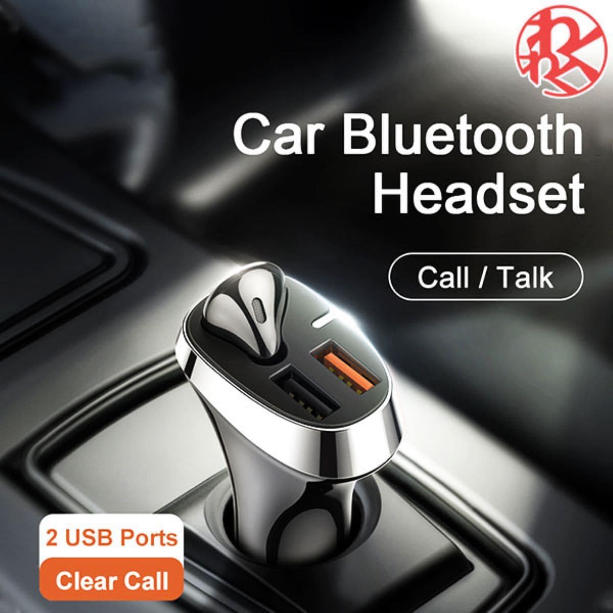 黒 ブラック ホワイト ワイヤレス イヤホン ヘッドフォン 車 充電器 usb シガーソケット マーケット 音楽 商舗 出力 Bluetooth わくわくファイネスト ハンズフリー 片耳 通話
