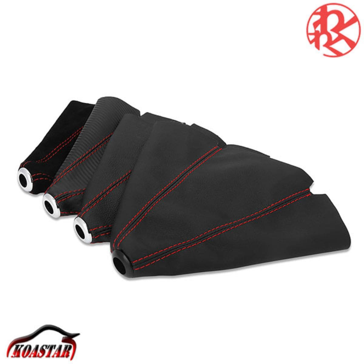 24時間限定限定価格 高品質新品 シフトカバー シフトブーツ カーボン 調 ブラック ギアシフト 黒 レッドステッチ 通信販売 わくわくファイネスト