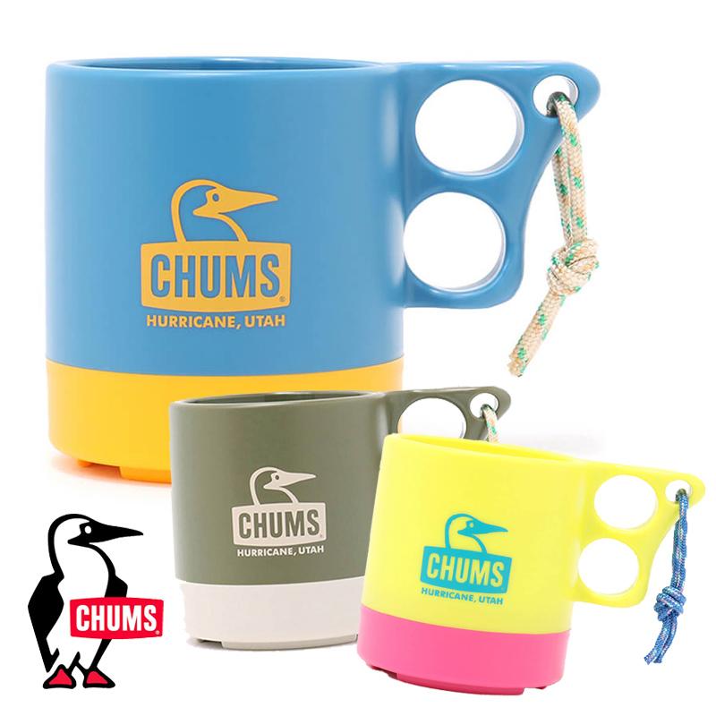 キャンプご飯が華やかになるチャムスのマグカップ チャムス 新登場 マグカップ CHUMS グッズCH62-1244 キャンパーマグカップ アウトドア キャンプ用品 ギフト Camper 発売モデル マグ 用品 Cup キッチン用品 カップ Mug