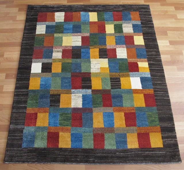 ギャッベ ギャベ/シェカルー、細かめのしなやかな織 195×154cm