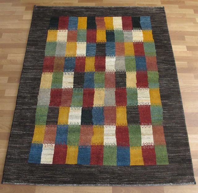 ギャッベ ギャベ/シェカルー、細かめのしなやかな織 199×153cm