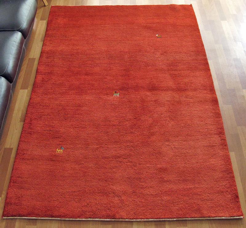 ギャッベ ギャベ 大きめリビングサイズ 242×164cm イラン直輸入 天然ウール100% 草木染め 手織り ラグ ゾランヴァリ (品番:ZL-485)