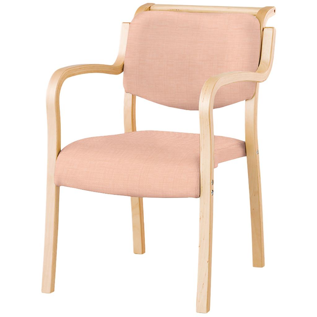 【法人様限定】ダイニングチェア 肘付き 木製椅子 肘掛 レザー スタッキングチェア 福祉 介護 食堂 福祉施設 病院 待合室 いす イス R-テンダーHG-SFD