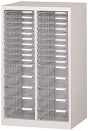 フロアケース A4サイズ 収納レターケース 2列15段 W540×D400×H880 R-A-215【SS0602】