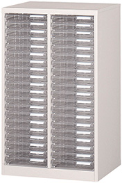 【法人様限定】フロアケース A4サイズ 収納レターケース 2列20段 W540×D400×H880 R-A-220