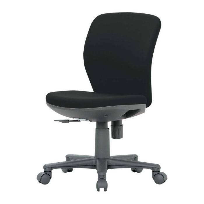オフィスチェア 生興 セイコー ビニールレザー ブルー 青 グレー 灰色 ブラック 黒 OA-1005V_ 日本製 国産 キャスター付き 肘なし 多目的チェア パソコンチェア 業務用 オフィス チェア 椅子∴オフィスチェア OA-1005V_