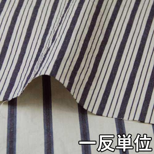 コットン【970650】【柄物】【送料無料】【綿生地】カラー全2色【一反単位の販売】【コットンリネンストライプ】970650☆ブラウスやワンピース・スカートに最適