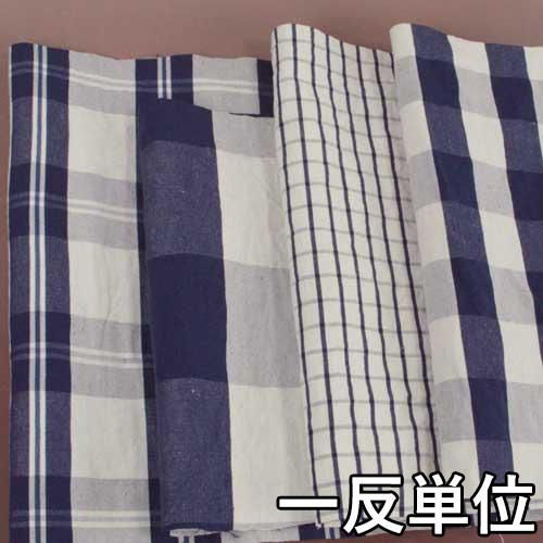 コットン【970660】【柄物】【送料無料】【綿生地】カラー全4色【一反単位の販売】【コットンリネンチェック】970660☆ブラウスやワンピース・スカートに最適