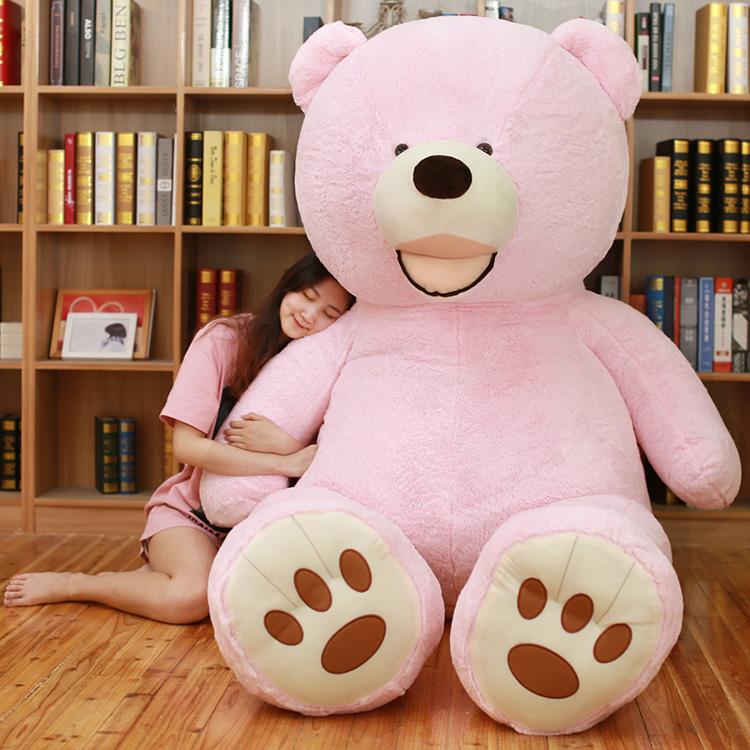 送料無料 特大 くま ぬいぐるみ 200cm 2M 熊 テディベアー 大きいクマ抱き枕 超特大 くまのぬいぐるみ 誕生日 贈り物 クリスマス ギフト 子供部屋 抱き枕