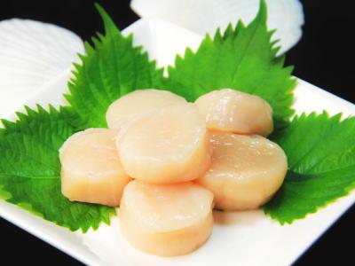 【鮮魚】むき帆立貝〈ムキホタテ〉1パック、20玉入、500g前後
