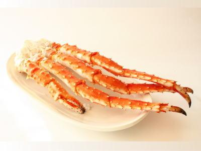 【冷凍】ボイルたらば蟹〈タラバガニ〉1パック、800g前後、4足前後