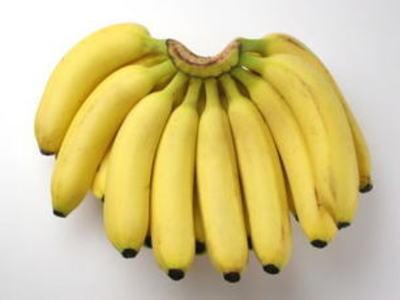 バナナ1房、2Kg前後、15本前後