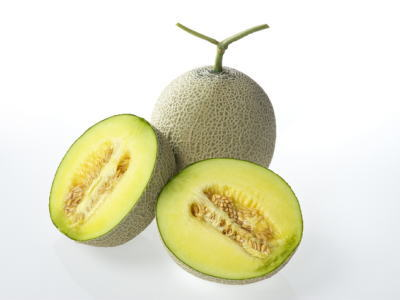 緑肉アールス系メロン品種:マスクメロン他1ケース、6個前後、7.5Kg~9Kg前後