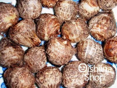 石川小芋〈イシカワコイモ〉別称:衣かつぎ〈キヌカツギ〉1ケース、50~100個前後、2Kg前後
