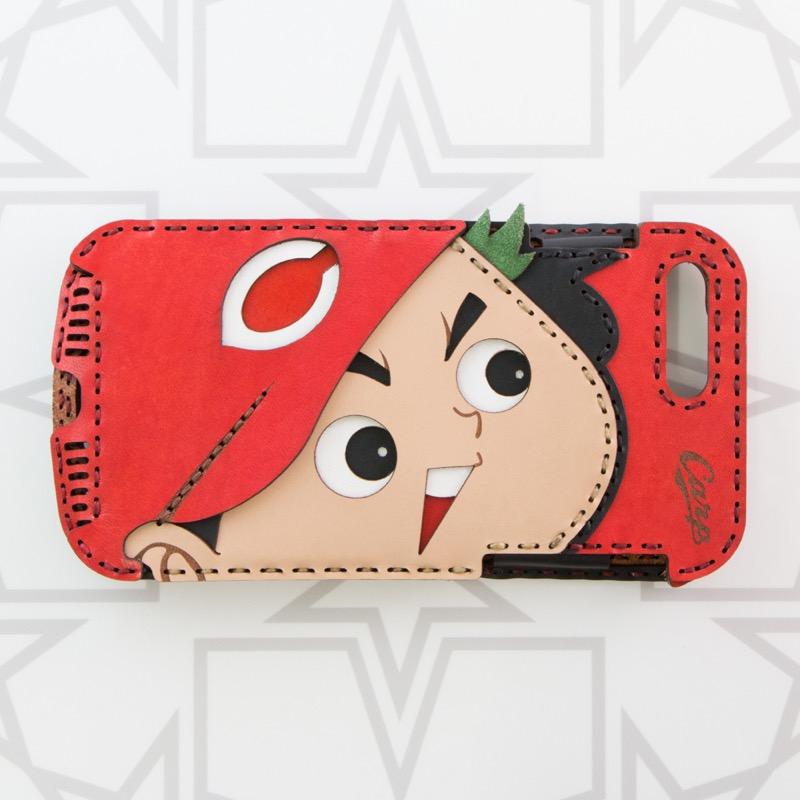 カープ坊や 横顔 iPhone7Plus/8Plusケース
