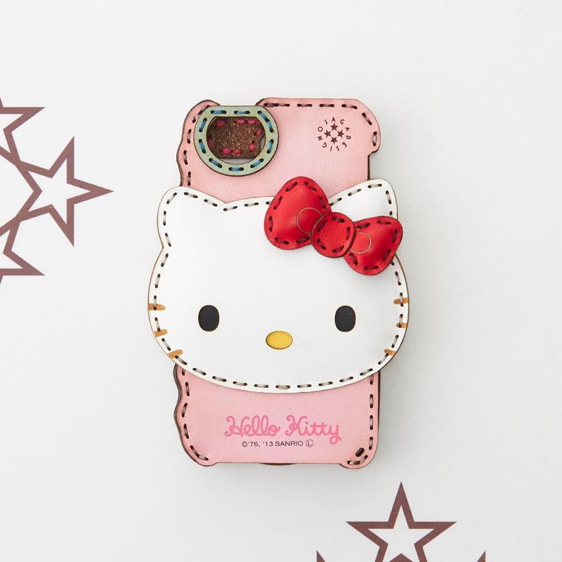 「OJAGA DESIGN」 オジャガデザイン HELLO KITTY iPhoneケース (iPhone5/5s/SE)