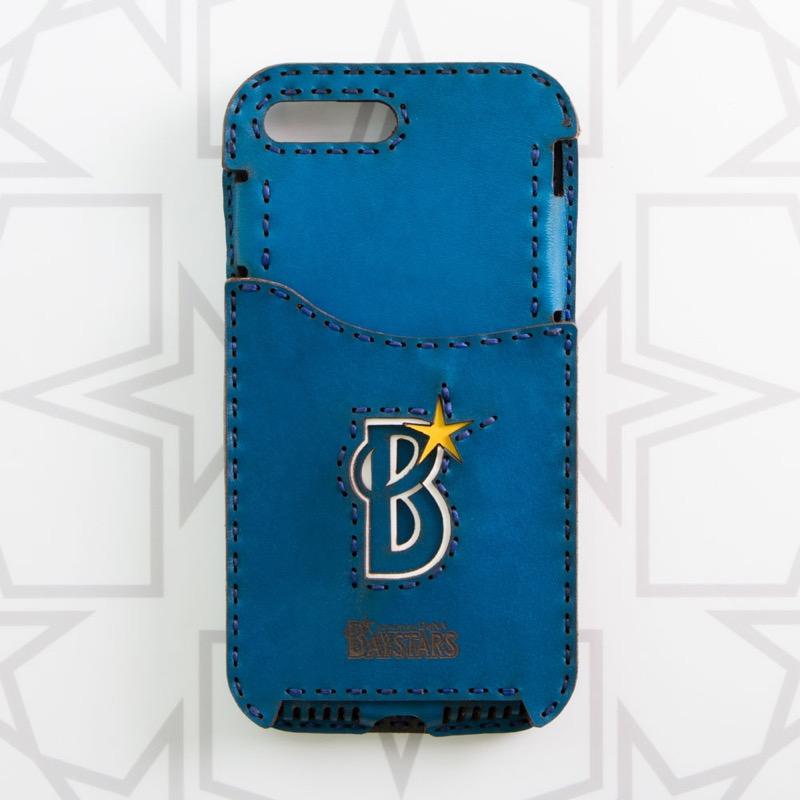 横浜DeNAベイスターズ Bロゴ iPhone7Plus/8Plusケース (Pocket Type)