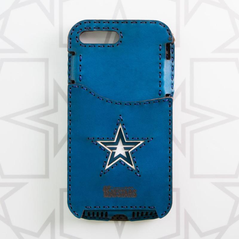 横浜DeNAベイスターズ スターロゴ iPhone7Plus/8Plusケース (Pocket Type)