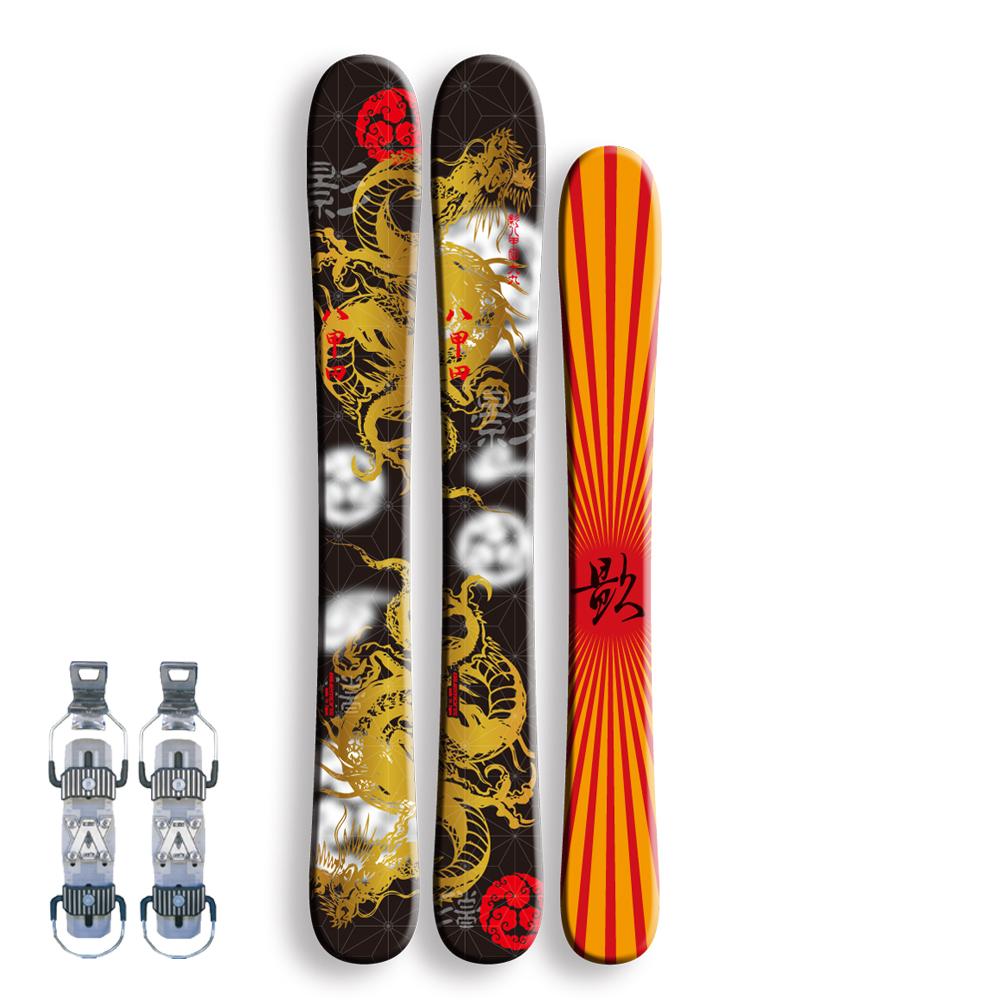 Bluemoris スキーボード 影八甲田 16モデル【AX-1ビンディング付】
