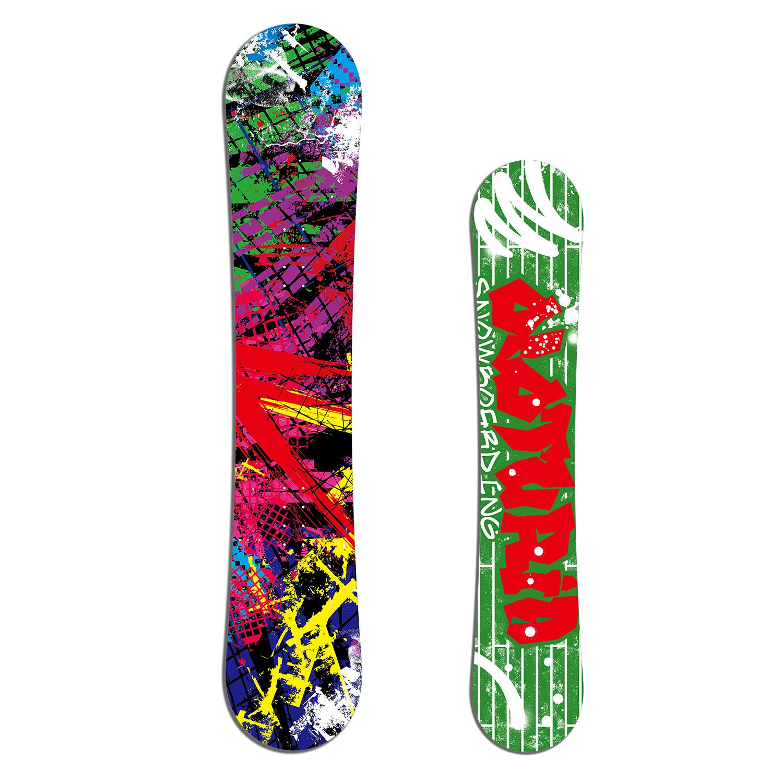BxB スノーボード OLOTURIA