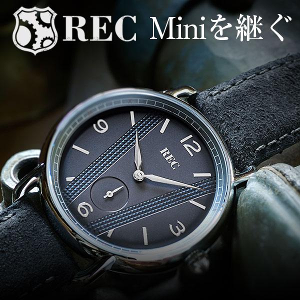 レック REC MINI ミニ ミニクーパー クーパー メンズ ユニセックス 腕時計 電池式 クォーツ 腕時計 ミニマル クラシックカー シンプル 薄型 42mm 北欧 デンマーク カジュアル フォーマル REC-C3 送料無料 2年保証 正規品