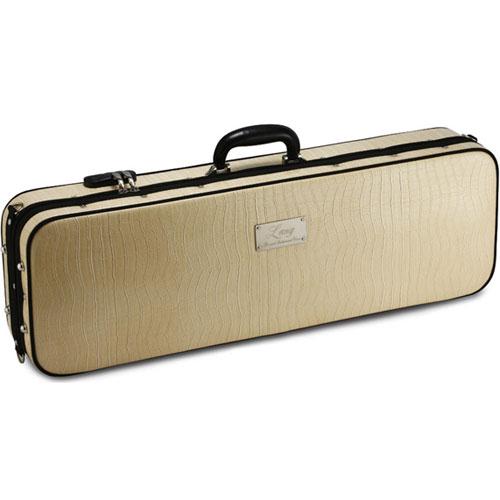 上品なワニ皮調合成皮革モデル ≪正規輸入品≫ ラング バイオリンケース アイボリー 贈物 SA51 ベージュ ついに入荷