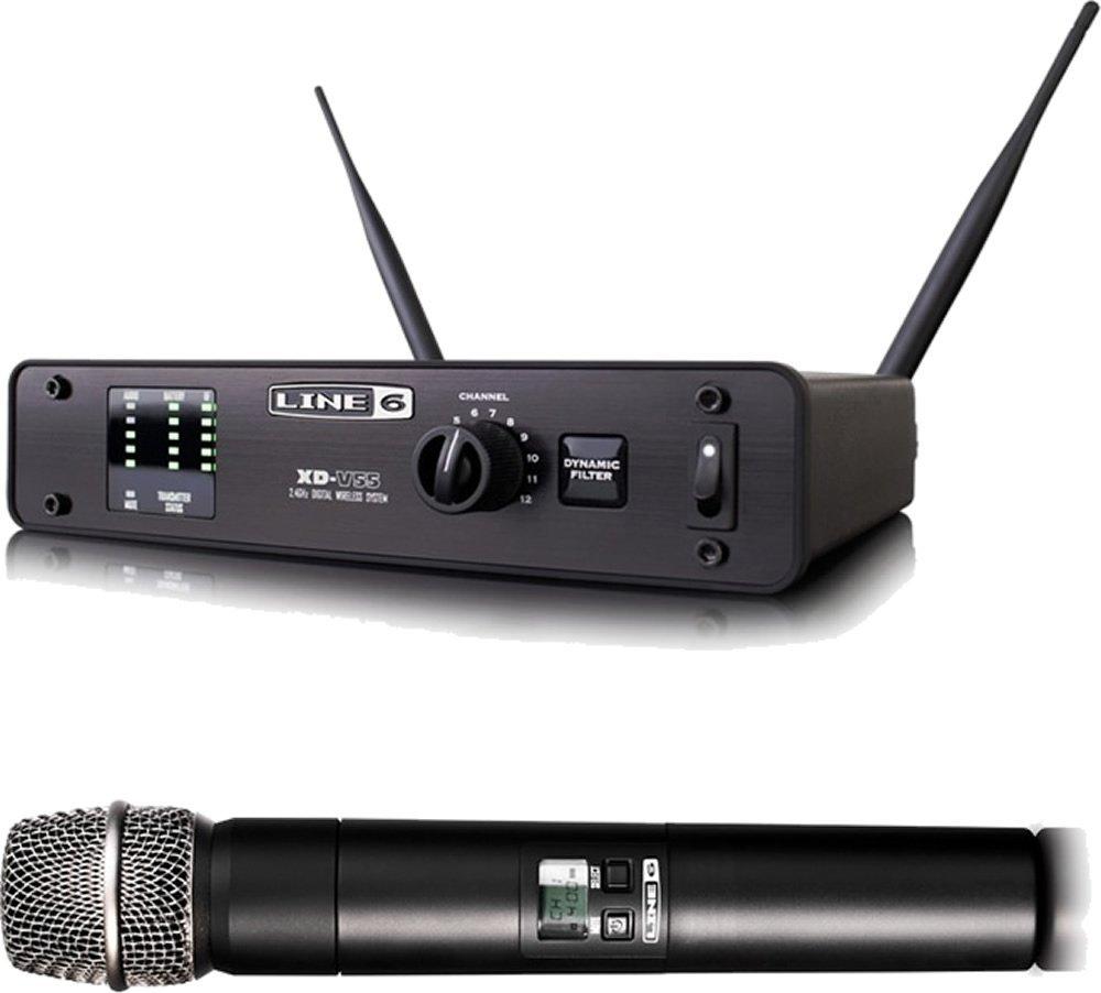 LINE6 XD-V55 デジタル・ワイヤレス・ハンドヘルド・マイクシステム