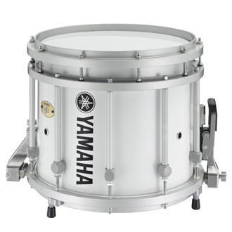 ヤマハ マーチングドラム MS9313 ホワイト 【本州・四国・九州への配送料無料】