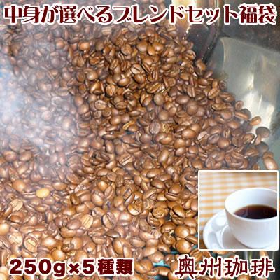 増量パック 1.25kg 250g×5袋 中身の選べる福袋 お好みの5銘柄をチョイスできます コーヒー豆 送料無料 贈呈 厳選12種類の銘柄からお好みの5種をお選び下さい 福袋 店 あれこれ選べるブレンドコーヒーセット自家焙煎コーヒー豆 増量