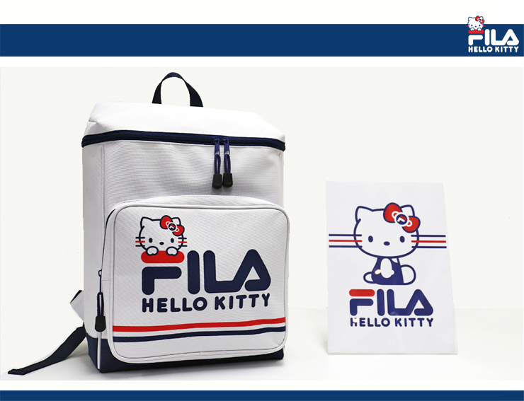 FILA Fila box daypack Hello Kitty Kitty Kitty-Chan square Backpack Rucksack girls ladies casual / girl Sanrio / school /FK1002 02P28Sep16