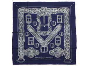 エルメス/新作 カレ ウォッシュ 90 スカーフ 【Boucles et Galons du Tsar(ツァーリのバックルと飾緒)】【新品】エルメス  カレ