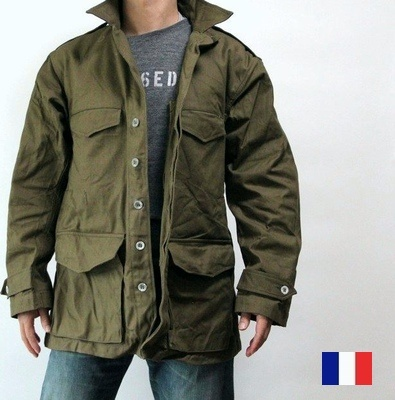 France army M47 military jacket steel buttons and force new ミリタリーデッド stock