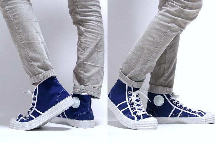 Czech high-cut sneaker / Czech military as model / military training shoes