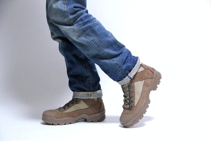 法国军队打击靴子阿尔盖罗勒 / 鞋子 / 男装 / 妇女 / 陆军战术军事死股票 / BRODEQUIN 区 CHUDE