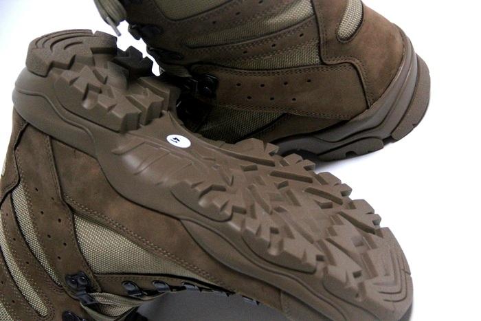 法國軍隊打擊靴子阿爾蓋羅勒 / 鞋子 / 男裝 / 婦女 / 陸軍戰術軍事死股票 / BRODEQUIN 區 CHUDE