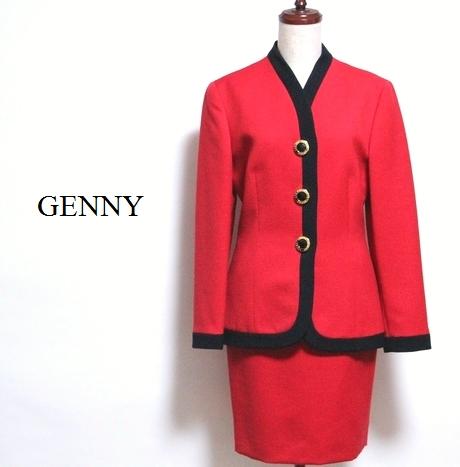 ジェニー GENNY / 美品 セットアップ イタリア製 【中古】 ジャケット スカート スーツ / #