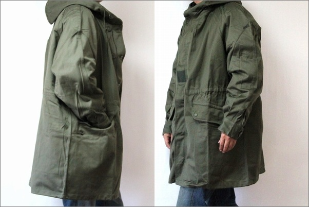 France army m-64 mod coat / M64 parka liner w / military dead stock army
