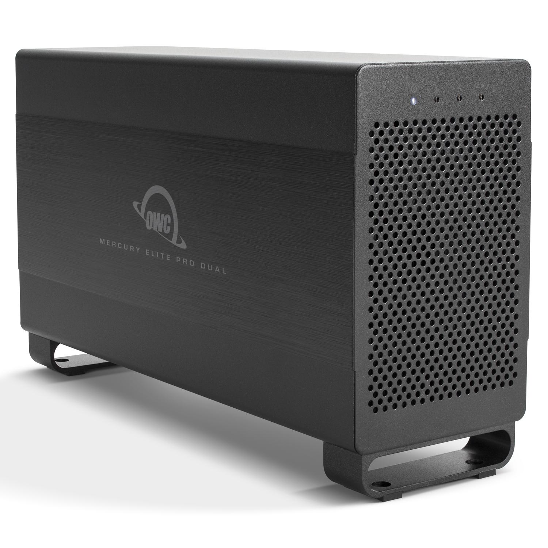 【国内正規品】OWC Mercury Elite Pro Dual (OWC マーキュリー エリート プロ デュアル) Thunderbolt 2 / USB3.1 Gen1 / RAID (8.0TB)