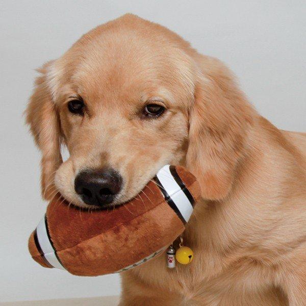 触り心地がとっても良いアメリカンフットボール型のおもちゃ アメリカンフットボール あす楽対応 返品交換不可 犬用おもちゃ SALE開催中