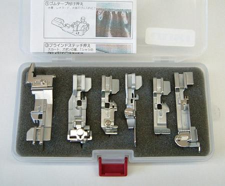 JUKI MO・RSシリーズ用アタッチメントプロキット※MO-1000Mには対応していません。